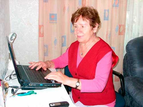 Раиса Викторовна Брандт - компьютерная Академия для пенсионеров